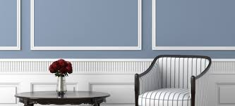 chair rail molding ideas and pictures for your home sitting area with gray walls and wainscoting