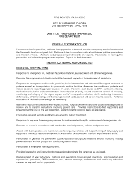 Firefighter Resume Template Authorize Letter Templates Templa No
