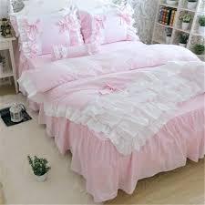 white ruffle duvet cover ruffle duvet new luxury layers bedding set sweet princess bow ruffle duvet cover wedding bedding pink ruffle duvet vintage ruffle