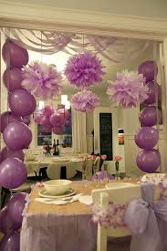 hang plastic tablecloths from doorways to add extra pizzaz to your