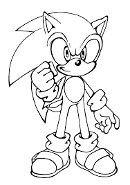 Small Picture Free Printable Sonic The Hedgehog Coloring Pages For Kids For