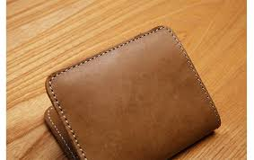 lan free shipment original design handmade leather wallet men s wallet small student wallet brand leather wallet