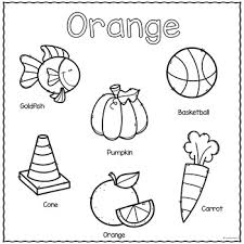 We at kids activities blog hope that you make some time to. The Color Orange Printable Activities Color Of The Week Tpt