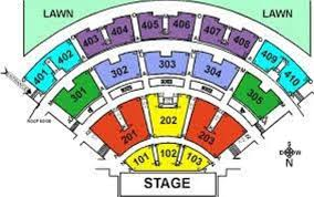 Molson Amphitheatre Detailed Seating Chart Seating Plan Picture Of Budweiser Stage Toronto Tripadvisor