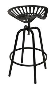 tractor seat bar stool black