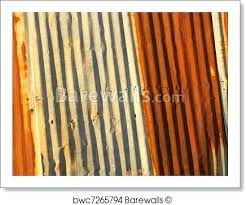 how to rust corrugated metal art print of rusted corrugated metal siding rusty corrugated sheet metal