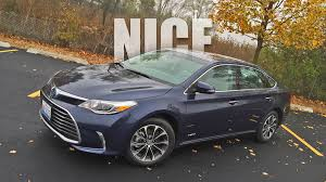 Reviewed: 2017 Toyota Avalon Hybrid Gets Driven in Chicago