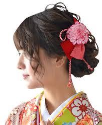 Amazon ミュゼ 袴 髪飾り リボン 赤 和装 卒業式 小物 アレンジ