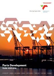Transnet Ports Development Guide 2018 2019 By Land Marine