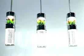 one light pendant lamp naturous crystal hanging with clear intended bubble glass globe pendant light