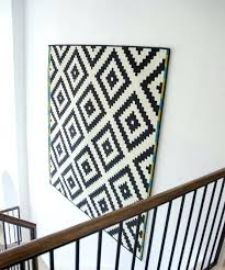 how to hang a rug on the wall cowhide persian velcro