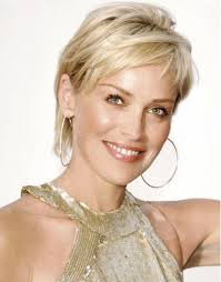 blonde short hairstyles for women over 50