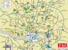 large cincinnati maps for free download and print  high