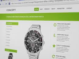 Listing Template Concept Responsive Multi Purpose Ebay Listing Template Finest Design