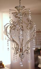 shabby chic chandelier ahh the pretty things lamp shades