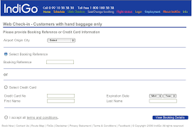 Indigo Airlines Login Indigo Web Check In Steps For Domestic International Travelers