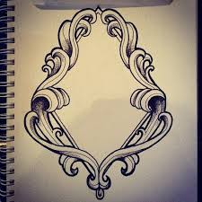 frame tattoo designs. Picture Frame Tattoo Designs Diamond Design O