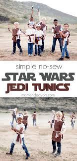 simple no sew star wars jedi tunics