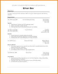 Sample Resume Factory Worker Job Description Maintenance Supervisor