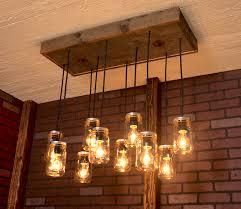 wood chandelier northern europe designer vintage