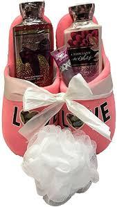 bath and body works gift basket ideas amazon com bath body works slipper gift sets gift baskets