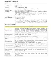 Android Developer Resume Styles Free Resume Template Download For Android Resume Template 11