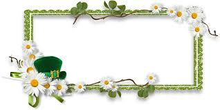 digital sbooking picture frames saint patrick s day easter frame 1600 800 transp png free picture frame flora text