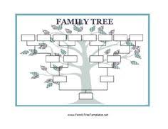 12 Ageless Is There A Blank Chart For Family Tree