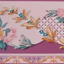 dundee deco wallpaper border pink