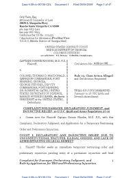 RHODES v McDONALD - 1 - COMPLAINT filed by Connie Rhodes against all  defendants | Injunction | Complaint