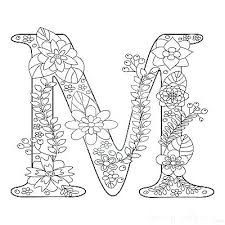 Music Coloring Book Coloring Book Alphabet Letters Letter M Coloring
