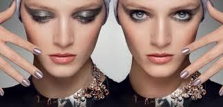 beautiful victoria s secret hair and makeup estee lauder makeup tutorials get the metallics makeup beauty look with french model constance jablonski