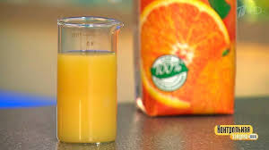 Сок апельсиновый Контрольная закупка Выпуск от