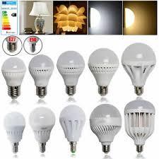 Home, Furniture & DIY Light Bulbs 3W 5W <b>7W 9W 12W</b> LED Light ...