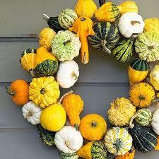 14 Festive + Modern Fall Wreaths You Can DIY