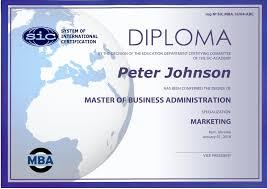 sic Международный британский диплом МВА согласно системы sic system of international certification london uk международная система по разработке и