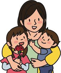 Znalezione obrazy dla zapytania mother and child clipart