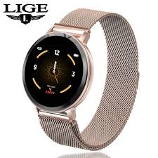 Online Shop <b>Smart Watch</b> Women Waterproof Fitness Tracker <b>Heart</b> ...
