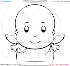 Baby Boy Coloring Pages Cartoon Clipart