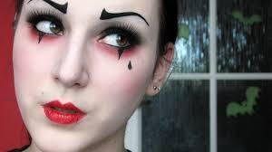 pierrot the clown makeup tutorial