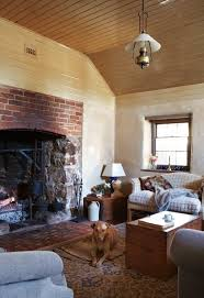 love the huge fireplace and flush hearth