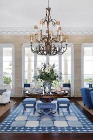 chandelier at a beach house
