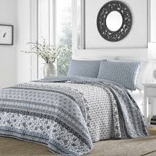 Overstock Bedroom Furniture Sets Stone Cottage Bexley Cotton Quilt Set By Stone Cottage Quilt