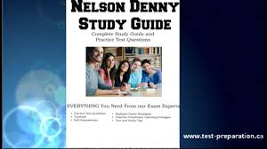 Nelson Denny Score Chart Nelson Denny Test Information Test Prep And Free Practice