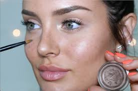 natural beauty makeup look the illusion of no foundation incl freckles you