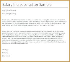 Salary Letters From Employer 15 Salary Increase Letter To Employer Profesional Resume