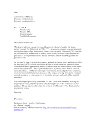 New Letter Of Appeal Sample Template Best Templates