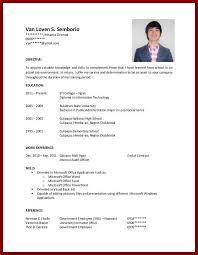 best education on resume no degree photos simple resume office