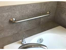 shower grip bars bathroom