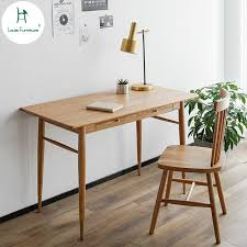 Nordic furniture Kids Louis Fashion Computer Desk Nordic Solid Wood Household Small Apartment Study Log Furniture Bedroom Modern Simple Aliexpress Louis Fashion Computer Desk Nordic Solid Wood Household Small